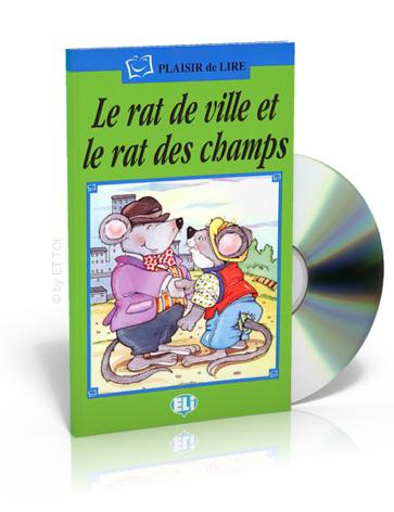 le rat de ville et le rat des champs cd audio eur european language. Black Bedroom Furniture Sets. Home Design Ideas