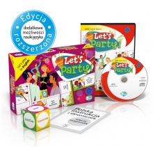 Language Game Let's Party! - Game Box + CD-ROM