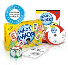 Language Game Who's Who? - Game Box + CD-ROM
