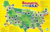 Language game Roundtrip of the U.S.A.