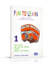 Fun to Learn 1 - Games, Puzzles, Colouring, Cut and Paste