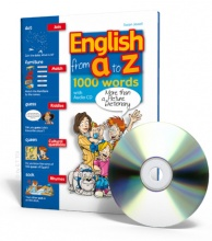 English from A to Z + CD audio - Alphabetic Picture Dictionary