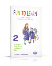Fun to Learn 2 - Games, Puzzles, Colouring, Cut and Paste