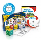 Language Game The Great Verb Game - Game Box + CD-ROM
