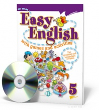 Easy English with games and activities 5 + CD audio