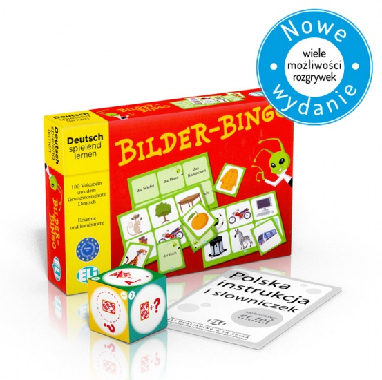 Language game Bilder-Bingo