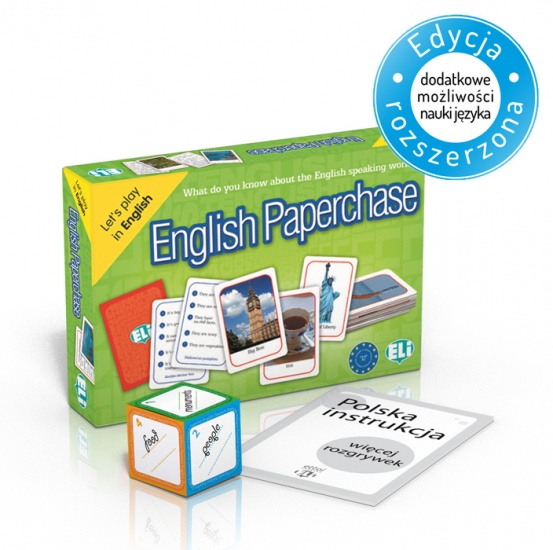 Language game English Paperchase