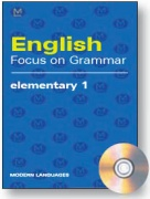English Focus on Grammar Elementary 1 + CD audio