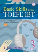 Basic Skills for the TOEFL® iBT - Listening 3 + 3 CD Audio