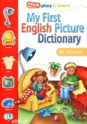 My First English Picture Dictionary - At home