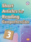 Short Articles for Reading Comprehension 3 + CD Audio