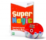 Super Magic 4 - Teacher's Book + 2 CD Audio