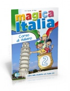 Magica Italia 2 - libro dello studente con audio CD