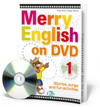 Merry English on DVD 1 - (Book + DVD)