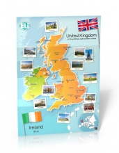 British Isles Map - Poster
