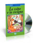 La volpe e la cicogna + CD audio