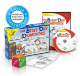 Language Game The Busy Day Dominoes - Game Box + CD-ROM