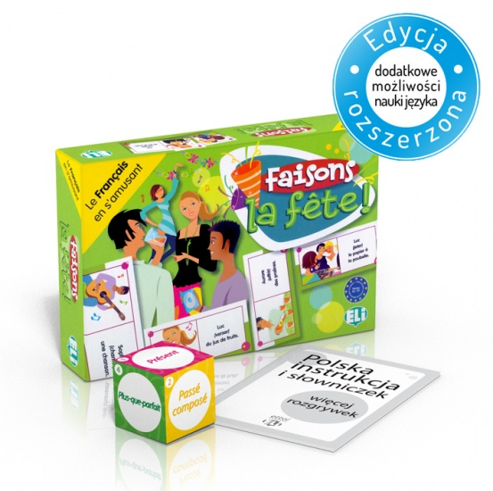 Language game Faisons la fête!