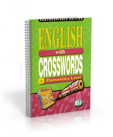 English with crosswords 1 elementary level