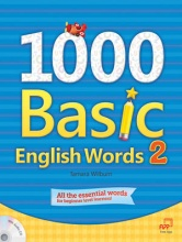 1000 Basic English Words 2 + Audio CD