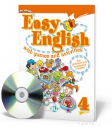 Easy English with games and activities 4 + CD audio