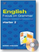 English Focus on Grammar Starter 2 + CD audio