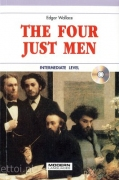 The four just men + CD audio
