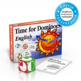 Language Game Time for Dominoes