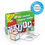 Language game Wir packen unseren Koffer