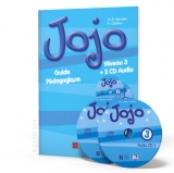 Jojo 3 guide pédagogique + CD audio