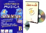 Laboratorio di musica B + CD audio + DVD video