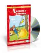 La cigarra y la hormiga + CD audio