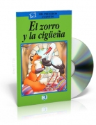 El zorro y la cigüeña + CD audio