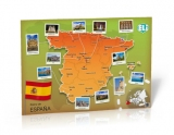 Mapa de España - Poster - Mapa de España - Poster (Reino de Espana) A civilisation poster that's new and unique, suitable for classes at various levels. The large and full-colour photographies differentiate Mapa de España - Poster from the traditional text on culture and make it the ideal interactive learning tool. Dimensions: 67,6x98cm ISBN 9788393511648 ELI & ET TOI 2014