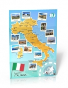 Carta d'Italia - Poster - Carta d'Italia - Poster (Repubblica Italiana) A civilisation poster that's new and unique, suitable for classes at various levels. The large and full-colour photographies differentiate Carta d'Italia - Poster from the traditional text on culture and make it the ideal interactive learning tool. Dimensions: 67,6x98cm ISBN 9788393511631 ELI & ET TOI 2014