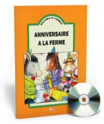 Raconte et chante - Anniversaire à la ferme + CD audio