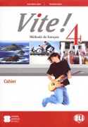 Vite! 4 Cahier + 1 CD audio