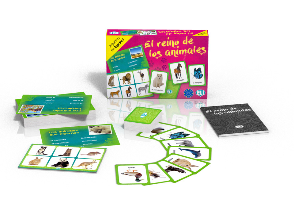 Language game El reino de los animales