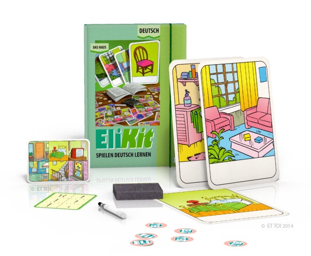 Language game EliKit - Das Haus