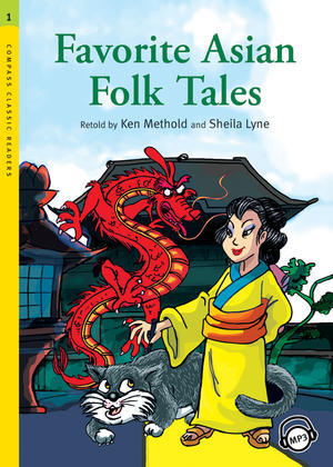 Favorite Asian Folk Tales + MP3 CD