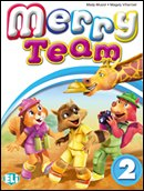Merry Team 2 Activity Book + Pupil's CD audio