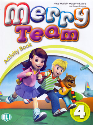 Merry Team 4 Activity Book + Pupil's CD audio