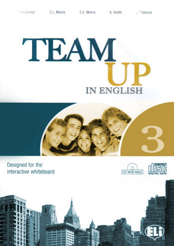 Team Up in English 3 Workbook+CD (0-3-level version)