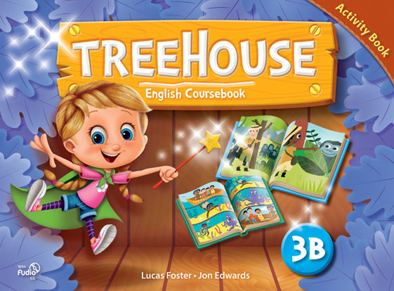 Treehouse 3B - Activity Book + CD Audio
