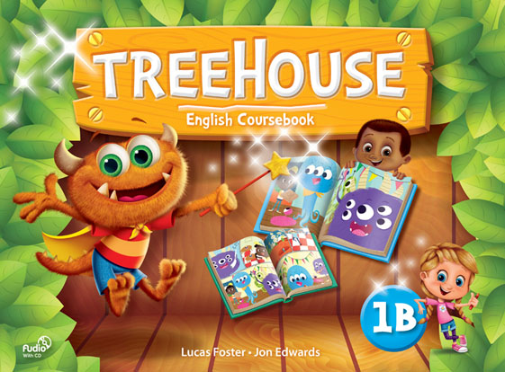 Treehouse 1B - Student Book with Audio CD