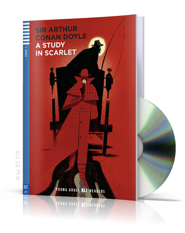 A study in Scarlet + CD audio