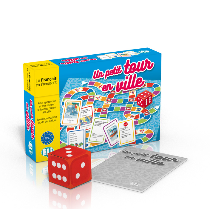 Language game Un petit tour en ville