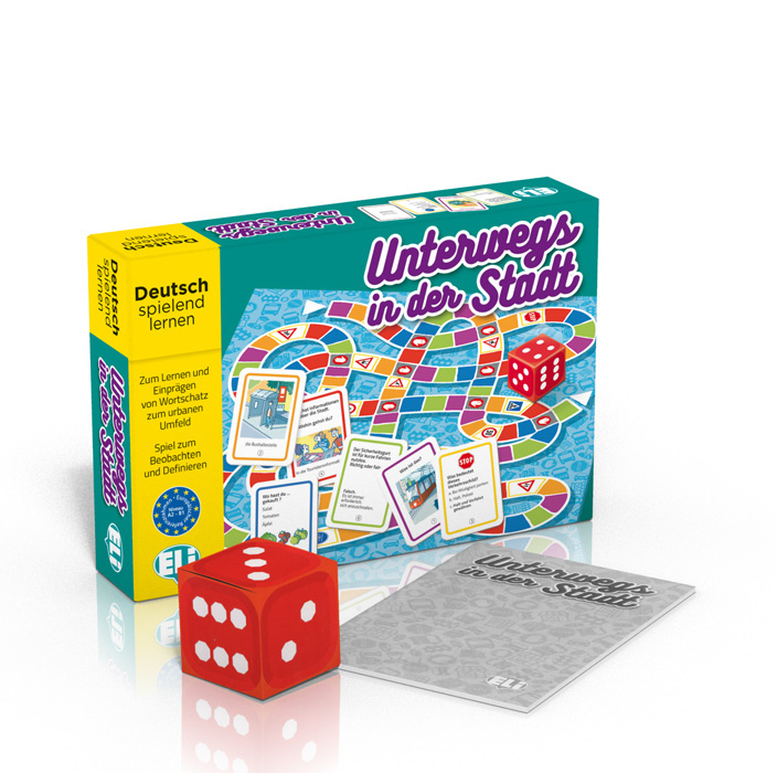 Language game Unterwegs in der Stadt