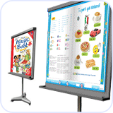 For the interactive whiteboard