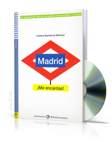 Madrid ¡Me encantas! + CD audio